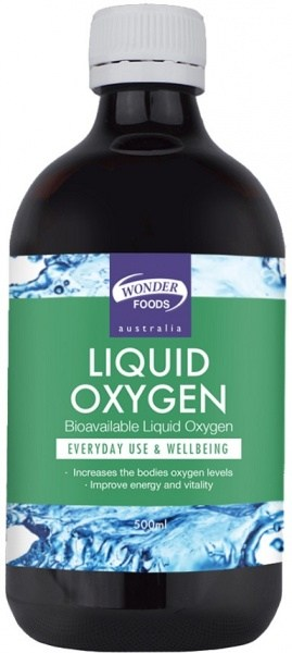 Wonderfoods Liquid Oxygen 500ml