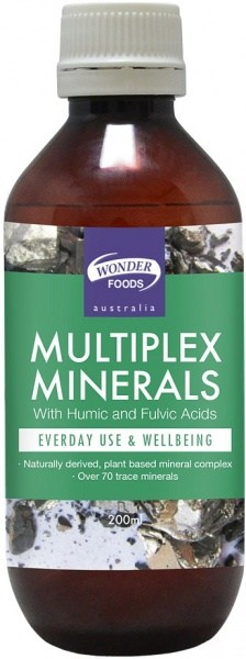 Wonderfoods Multiplex Minerals Liquid 200ml
