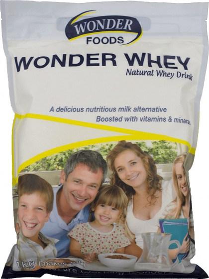Wonderfoods Natural Whey Formula Dietary Food 1kg