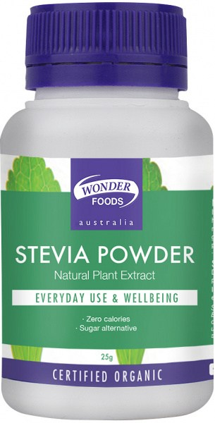 Wonderfoods Organic Herbal Stevia Powder 25gm