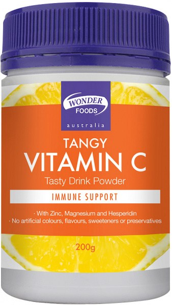 Wonderfoods Tangy Vitamin C Powder 200gm