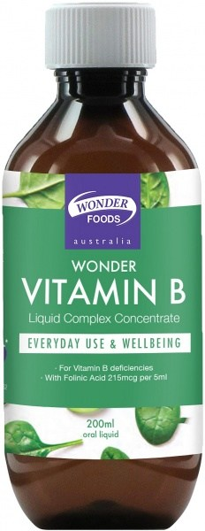 Wonderfoods Wonder Vitamin B 200ml