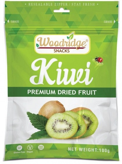 Woodridge Snacks Dried Fruit Kiwi  100g