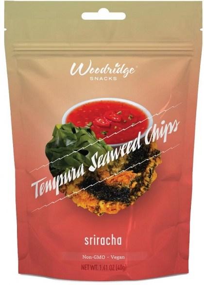 Woodridge Tempura Seaweed Siracha Chips 40g
