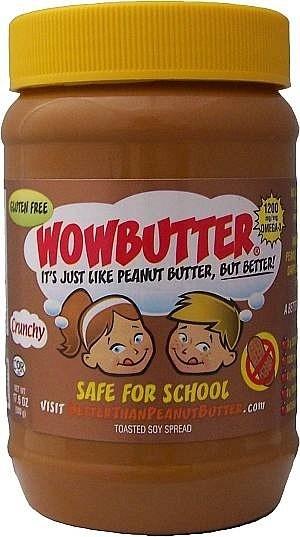 WOWButter Peanut Butter Crunchy  500g