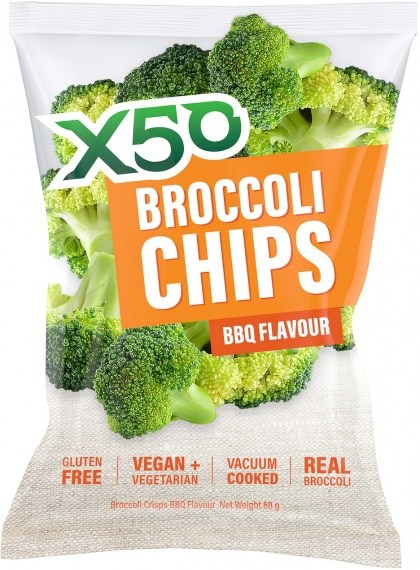 X50 Broccoli Chips BBQ  Vegan 60g