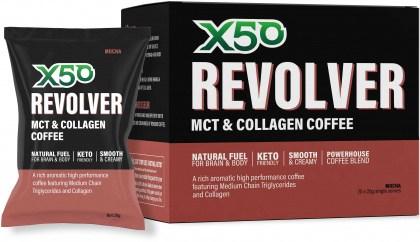 X50 Revolver MCT Coffee Mocha 20 x 20g Sachets