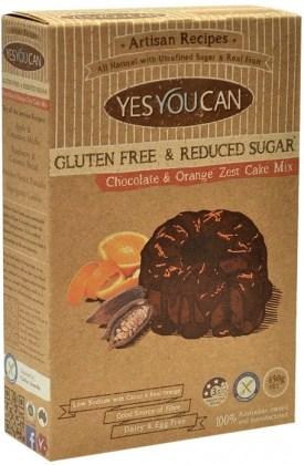 YesYouCan Artisan Chocolate & Orange Zest Cake  450g