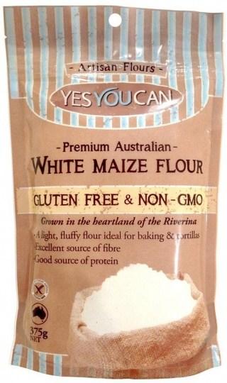YesYouCan Artisan Flour White Maize 375g