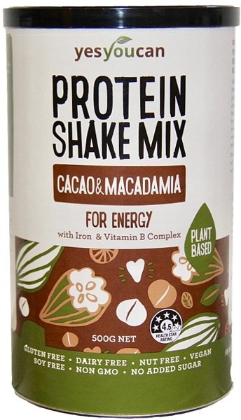 YesYouCan Protein Shake Mix Cacao & Macadamia For Energy  500g