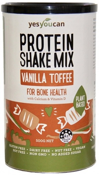 YesYouCan Protein Shake Mix Vanilla Toffee for Bone Health  500g