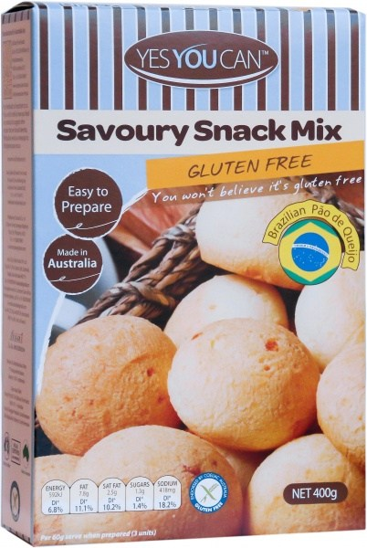 YesYouCan Savoury Snack Mix  400g