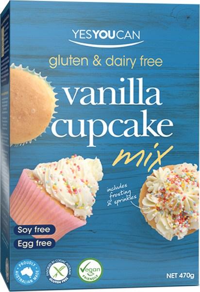 YesYouCan Vanilla Cupcake Mix  470g