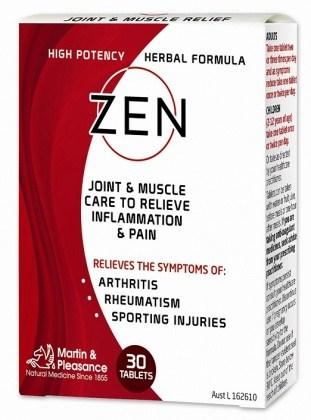 Zen Joint & Muscle Relief 30Tabs