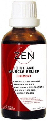 Zen Natural Herbal Liniment Drops 50ml