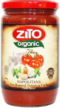 Zito Pasta Sauce Napolitana 690g Tomato/Garlic