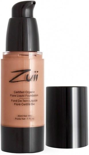 Zuii Flora Liquid Foundation Honey Beige 30ml