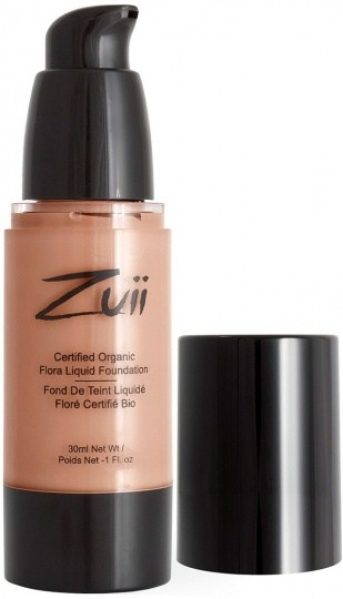 Zuii Flora Liquid Foundation Natural Tan 30ml