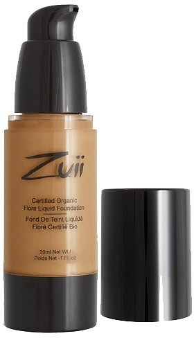 Zuii Flora Liquid Foundation Olive Tan 30ml
