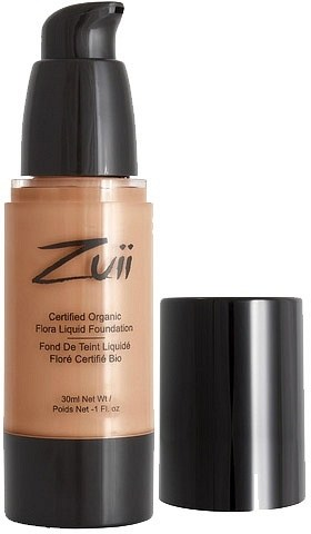 Zuii Flora Liquid Foundation Warm Amber 30ml