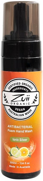 Zuii Organic Ionic Silver Antibacterial Foaming Handwash 200ml