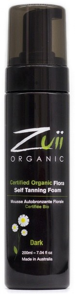 Zuii Organic Self Tan Foam Dark 200ml