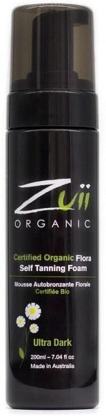 Zuii Organic Self Tan Foam Ultra Dark 200ml