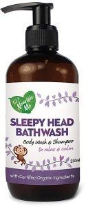 123 Nourish Me Sleepy Head Bath Wash Pump 250ml