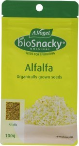 A.Vogel BioSnacky Alfalfa Sprouting Seeds 100g