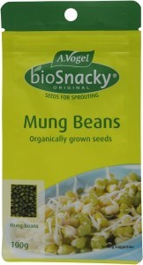 A.Vogel BioSnacky Mung Bean Sprouting Seeds 100g