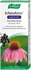 A.Vogel Echinaforce Cold & Flu Hot Drink Syrup 100ml