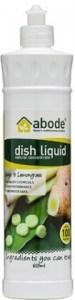 Abode Dish Liquid Ginger & Lemongrass 600ml squirt cap