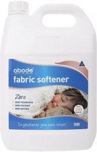 Abode Fabric Softener ZERO Fragrance Free 5L