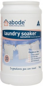 Abode Front & Top Loader Laundry Soaker Sensitive Fragrance Free 1kg