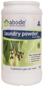 Abode Front & Top Loader Eucalyptus Laundry Powder 1kg
