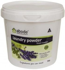 Abode Front & Top Loader Lavender & Mint Laundry Powder 5kg