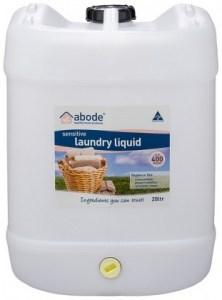 Abode Sensitive Laundry Liquid Fragrance Free 20L