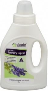 Abode Lavender & Mint Natural Laundry Liq 1ltr pour cap