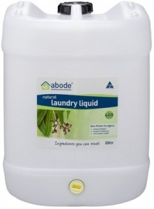 Abode Natural Laundry Liquid Blue Mallee Eucalyptus 20L
