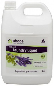 Abode Natural Laundry Liquid Wild Lavender & Mint 5L
