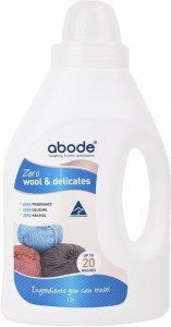 Abode Wool Wash ZERO Fragrance Free 1L