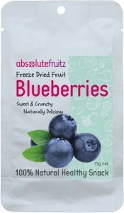 Absolute Fruitz Freeze Dried Blueberry 15g