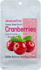 Absolute Fruitz Freeze Dried Cranberry 15g