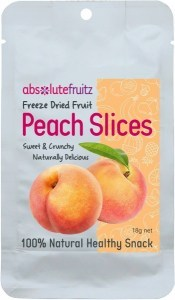 Absolute Fruitz Freeze Dried Peach 18g