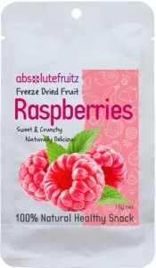 Absolute Fruitz Freeze Dried Rasberry 15g