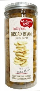 Absolute Good Broad Bean Roasted Sea Salt 150g