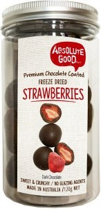 Absolute Good Dark Chocolate Coated Strawberry 120g