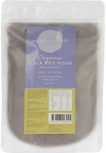 Absolute Live Organic Black Rice Flour Cooked 300g