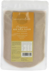 Absolute Live Organic Red Rice Flour Cooked 300g