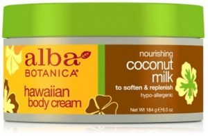 Alba Hawaiian Body Cream Coconut Milk 184g